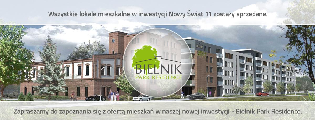 Bielnik Park Residence nowe mieszkania
