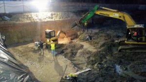 Stara Przędzalnia w Żyrardowie pierwsze prace budowlane